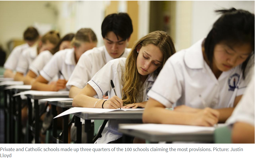 澳洲高考,私校获取的特殊待遇远超公校!令人深思!